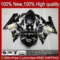Moto Body For KAWASAKI NINJA OEM ZX600C ZX636 ZX 6R 6 R 600CC 05-06 Bodyworks 7No.18 ZX600 ZX 636 ZX-6R 2005 2006 ZX-600 ZX-636 600 CC ZX6R 05 06 ABS Fairing Kit Lucky Strike