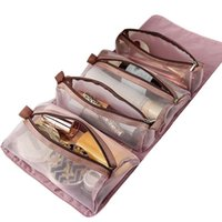 Cosmetic Bags & Cases Detachable Nylon Makeup Bag Portable Large-capacity Four-in-one Folding Travel Storage Toilet