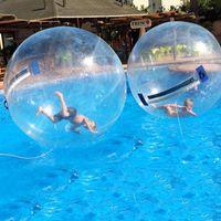 بركة سباحة 1.8 متر بكرات المياه نفخ المشي على الكرة للسباحة العائمة الإنسان داخل البدع بالون الجري زورب كرات