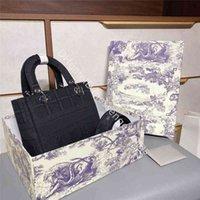 Diseño de bolsos de lujo de lujo 2021 diseñador Lady Fashion Handbags Totes letra D-Stripes My ABC Retro All-Match Horizontal Plaid Bordery Di Fei Bag