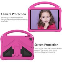 Kids Safe Shockproof Stand Tablet Cover For Apple iPad 5 6 9.7 2018 2017 Air 2 1 Pro 9.7 2016 Case EVA Foam Portable Hand Holder