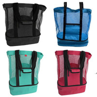 Outdoor Picnic Bag 4 Colors Beach Camping Multi-function Large Capacity Lunch Bags Portable Travel Bag FWF8799