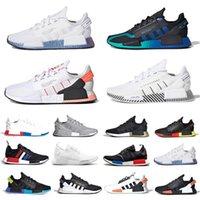 adidas 저렴한 코어 블랙 NMD R1 V2 남성 멕시코 시티 오레오 OG 클래식 아쿠아 톤 메탈릭 골드 남성 여성 일본 스포츠 운동화 신발을 실행