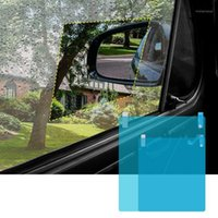 175x200mm Car Side Window Rainproof Film Full Screen Glass Anti Fog Reflective Mirror Universal Waterproof Sunshade1