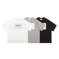 Primavera Estate 6 ° Sesto Sesto collezione Classic Collezione Autoadesivo Logo TEE Skateboard Cool Tshirt Uomo Donna Manica corta Casual T Shirt