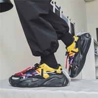 أحذية رياضية أحذية رياضية أصيلة عارضة سميكة سوليد الرجعية الاتجاه أحذية رياضية القديمة الرجال
