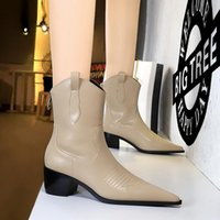 Womens Motorcycle Ankle Boots Slides Western Shoes Knight Martin Desert Boot Real Leatherl Non-Slip Ladies Winter Fashion Booties Dress Wedding Party Shoe Size 35-40