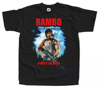 Rambo First Blood Black T-рубашка Все размеры