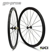 عجلات الدراجة هايت الجودة الكربون الطريق العجلات Novatec A271 / F372 محور عمود 1423 تكلم 30/88/47/50/60/88 ملليمتر