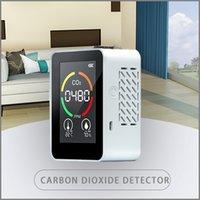 ثاني أكسيد الكربون كاشف CO2 كاشف PPM استشعار تركيز الغاز Color SN Ligent جودة الهواء محلل مع درجة الحرارة عرض الرطوبة