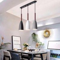 Подвесные светильники Современное 3 освещение Nordic Minimalist Lights на столовом столе кухонный остров висит комната E27