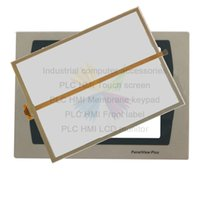 Panelview Plus 700 2711P-T7C22A9P-B 2711P-T7C22D9P-B HMI PLC Dokunmatik Ekran Paneli Dokunmatik Ekran ve Ön Etiket PVC Film Sticker