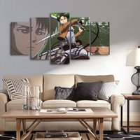5pcs/set Unframed Classic Animation Movie Painting Decoration Giant Print Giclee Wall Art