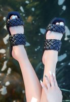 Slippers BveA Store Fashion Summer Women 'S Sexy Casual Sandals With Good Black Skin Braided
