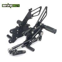 Pedals BIKINGBOY Rearsets Foot Pegs Rear Sets CBR1000RR Fireblade 04 05 06 07 08 09 10 11 12 13 14 15 16 CBR 1000 RR ABS 2009-2021 CNC