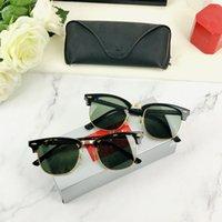Lunettes de soleil de marque de marque Menglasses de luxe Hommes et Femmes Square Square