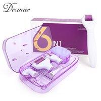 DRS originale 6 in 1 Derma Rullo Ago Ago Microodermabrasion Kit per microneedle del rollour del tutto per la cura della pelle Trattamento del ringiovanimento