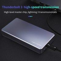 3 NVME M.2 SSD Case External Hard Drive Aluminum Hdd Docking Station NVNE Enclosure For Laptop Desktop