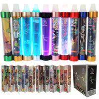 주식 전자 담배 몬스터 일회용 vape 펜 LED 가벼운 증기 키트 전자 담배 기화기 만화 패턴