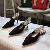 상자와 함께! 새로운 fashoin 여자 구두 발 뒤꿈치 숙녀 플랫 여성 추세 고전 우아한 라인 석양 Pionted 발가락 드레스 신발 Shoe02 PD02