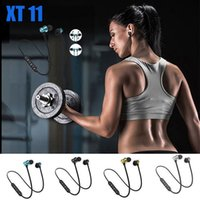 Magnetic XT11 Wireless Bluetooth Headphones Stereo Fitness Running Sport Earphones Headset BT 4.2 with Mic MP3 Earbud