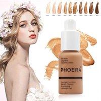 Whitening Liquid Full Cover Concealer Foundation Gesichtsgrundescreme Erhellen Feuchtigkeitscreme Mineralgesicht Makeup Primer TSLM11