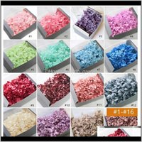 Decorative Wreaths Festive Party Supplies Home & Garden20G Box 16 Color Lasting Natural Fresh Preserved Dried Hydrangea Flower Head For Diy