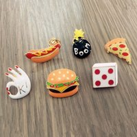 Food Lapel Goods Burgers Cute Women Dog Backpack Badges Wholesale Enamel Series Hot Pin For Pizza Mens Drop Brooches Hat Suit Shipping Xted