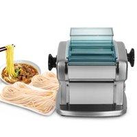 Electric Nudel Makers Zwei Schneider Teigwaren Macher Edelstahl Machine Lasagne Spaghetti 135w 5kg / h IT-FKM2