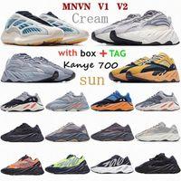 Kanye yezys 700 Wave West повседневная обувь YEZZY V2 Sun Amber Cream Яркий Cyan Teal Vanta Mauve Saltle Geode Inertia Static Analog Tephra Kyanite RU 37IL #
