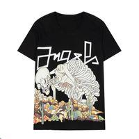 2021ss spring and summer Jackets high grade cotton printing short sleeve round neck panel luxury T-Shirt Size: m-xxxxl- women skull K8
