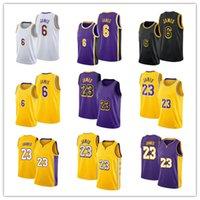 2021 Mens Basketbol Jersey23 Lebron James 6