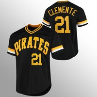 Pittsburgh 21 Roberto Clemente Piratas Piratas Baseball Jerseys 32 Henry Davis Marte Marte Francisco Cervelli Kent Tekulve Josh Bell Chris Archer Gregory Polanco A6