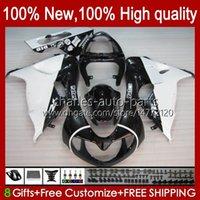 OEM Black Silvery Body pour Suzuki Srad TL1000R TL-1000R TL1000 R 98 99 00 01 02 03 Bodywork 19HC.96 TL 1000R 98-03 TL-1000 TL 1000 R 1998 1999 2000 2002 Kit de carénage 2003