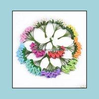 الزخرفية الزهور إكليلات الاحتفال حزب اللوازم الرئيسية حديقة 12pcs مصغرة رغوة calla handmame الاصطناعي باقة الزفاف الديكور diy wrea