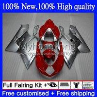 OEM Silver red new Fairings For MV Agusta F4 R312 750S 1000 R 750 CC S 1000CC 05-06 Bodywork 6No.3 312R 750R 1000R Cowling 312 1078 S 1+1 05 06 MA MV F4 2005 2006 Bodys kit