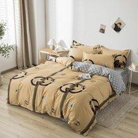 55Banxiao Home Kurzer Bettwäsche Flachblatt Queen-Size-Bett-Tuch für Luxus-King-Bettwäsche-Set-Sets