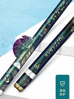 Boat Fishing Rods Chameleon Super Light Rod High Quality Stream 3.6 10m Carbon Fiber Hand Pole For Carp