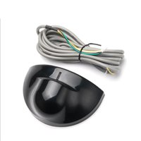 Alarm Systems Automatic Gate Door Microwave Motion Sensor Detector Black Silver Color Sliding Swing Auto Opening