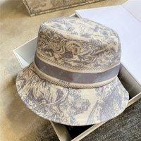 남성 여성 양동이 모자 비니 패션 캐스쿼트 남성 여성 Gorra 편지 인쇄 장비 모자 보닛