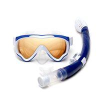 Masques de plongée Masque sous-marin Snorkel Masque imperméable anti-brouillard Gel de silice Natation Set Enfant Gafas Buceo Pool Equipment DM50DM
