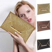 Женщины Luxurys дизайнер вечерняя сумка сумка пакетики конверт черная сумка игристая вечеринка с целыми свадьбами день складывает золотые кошельки 2020;