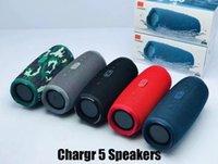 Şarj 5 Bluetooth Hoparlör Ücreti5 Taşınabilir Mini Kablosuz Açık Su Geçirmez Subwoofer Hoparlörler Destek TF USB Kart Kutusu
