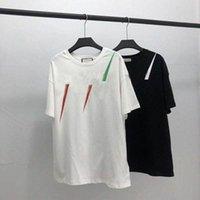 20ss الرجال t-shirt مصمم إلكتروني طباعة طاقم الرقبة عارضة الصيف تنفس رجل إمرأة القمصان بلون القمم المحملات بالجملة O4DF #