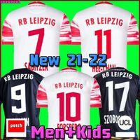 RB Leipzig 20 21 Soccer Jersey em casa fora do terceiro WERNER Camiseta HEE-CHAN Maillot HALSTENBERG SABITZER 2020 2021 Football Shirt Kits CUNHA Uniform soccer jersey
