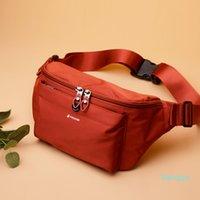 Waist bags women's 2021 new fashion sports running mobile phone bag ladies nylon shoulder messenger bag