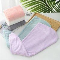 Hair Caps Microfiber Quick Dry Shower Magic Absorbent Towel Drying Turban Wrap Spa Bathing Cap