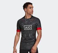 maori All Black 2022 NZ Rugby Jersey HOME away Super rugby shirt Training clothes Maori jerseys big size s-5xl