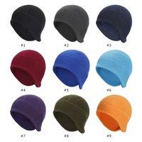 Autumn outdoor men's cycling cap sports beanie hat winter women's ear protection warm ski cap XY487