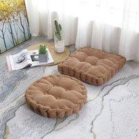 Cushion Decorative Pillow Lumbar Chair Cushion Office Fabric Sofa Home Decoration Textile Knee Floor Throw Flu